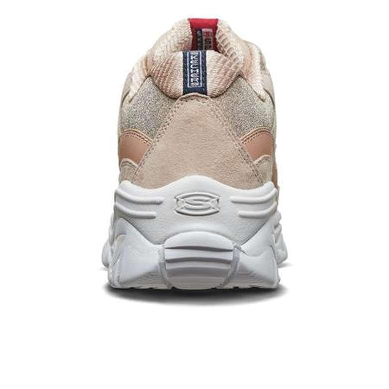 Skechers 13409-NAT Kadın Ayakkabı - Pudra-Beyaz 36
