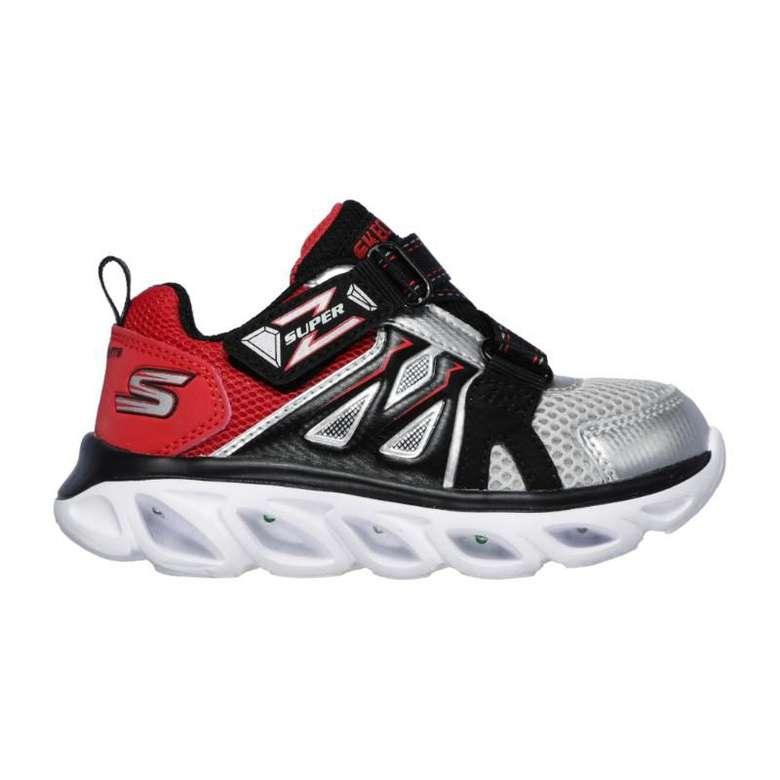 Skechers 90512N-Slrd Çocuk Ayakkabı - Siyah-Kırmızı 22