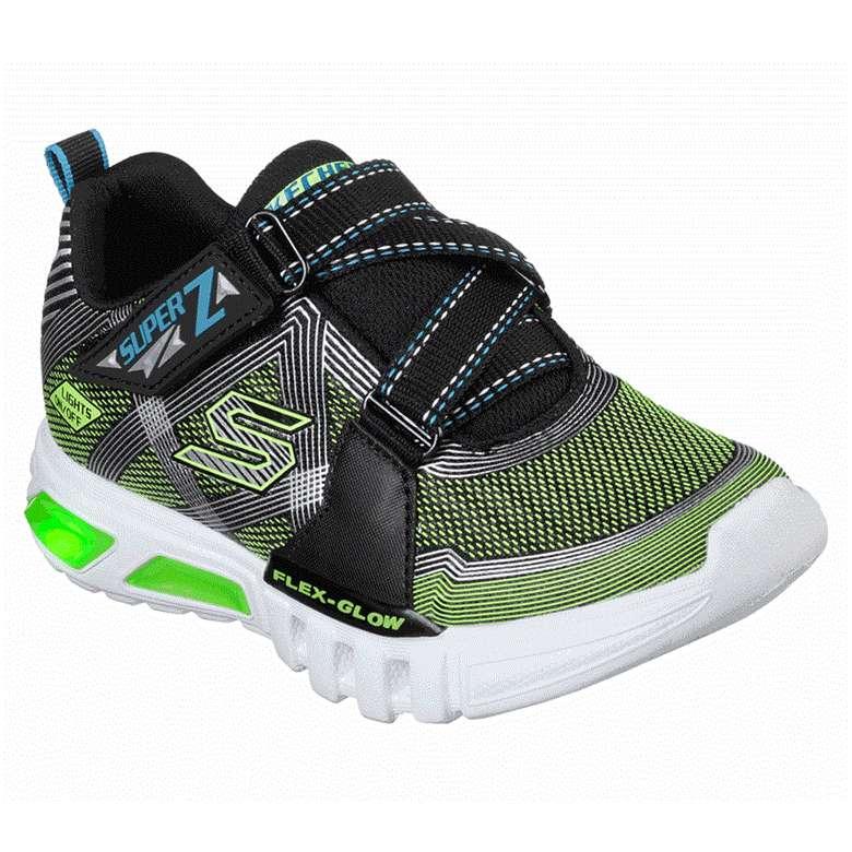 Skechers 90543N-BKLM Çocuk Ayakkabı - Yeşil-Siyah 24