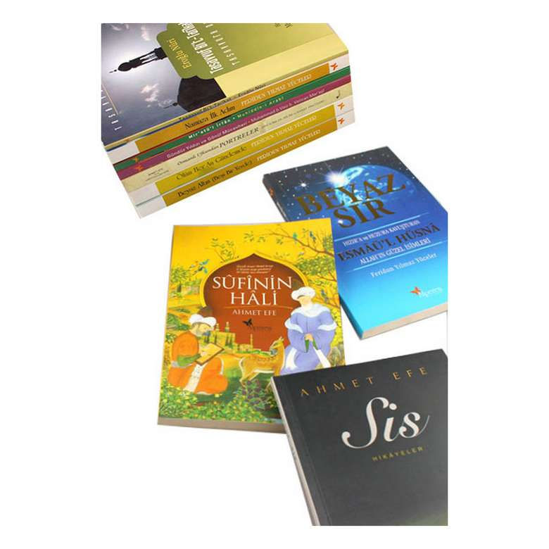 Din Ve Tasavvuf Kitapları Seti - 10 Kita