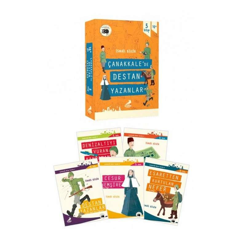 Çanakkalede Destan Yazanlar 5 Kitap - Er