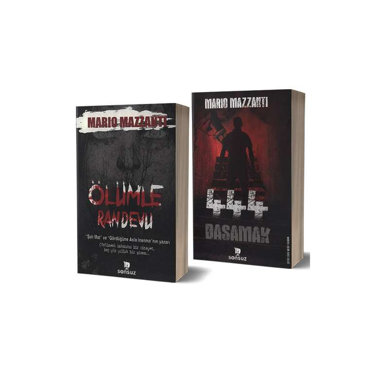 444 Basamak Ve Ölümle Randevu - 2 Kitap