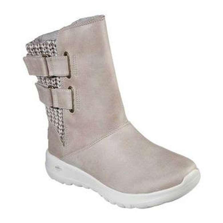 Skechers 15529-NAT Kadın Ayakkabı - Bej 36