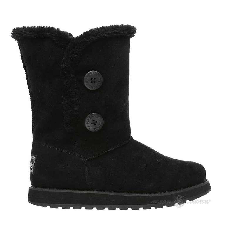 Skechers 49735-BLK Kadın Ayakkabı - Siyah 35