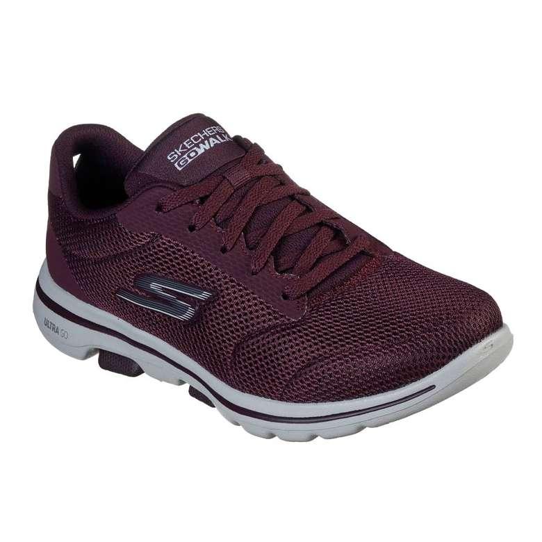 Skechers 15902W-BURG Kadın Ayakkabısı, Bordo, 35