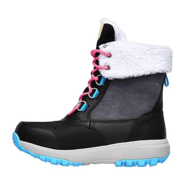 Skechers 15570-BKMT Kadın Ayakkabısı, Siyah - Beyaz, 39