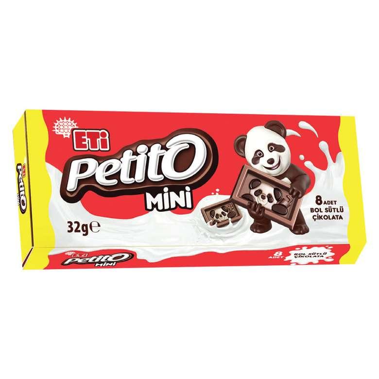 Eti Petito Sütlü Çikolata Mini 32 G