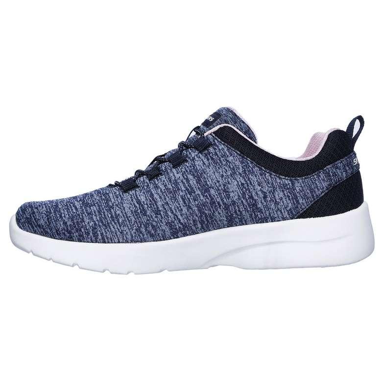 Skechers 12965-Nvpk Kadın Ayakkabı - Lacivert -Beyaz, 37