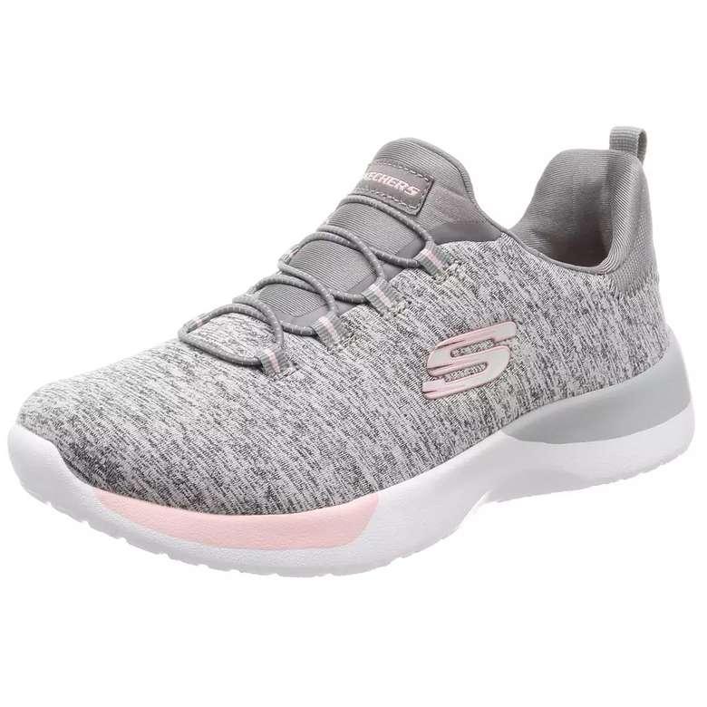Skechers 12991-GYLP Kadın Kadın Spor Ayakkabı - Gri-beyaz, 36
