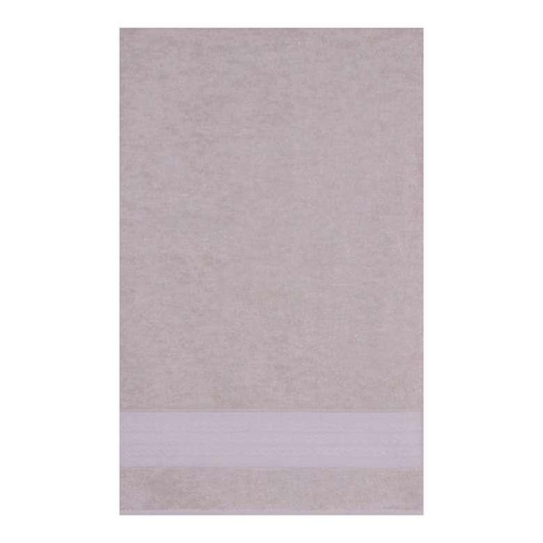 Banyo Havlusu Bordürlü (70x140 Cm) - Gri