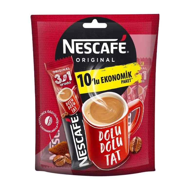 Nescafe Kahve 3'Ü 1 Arada 10X18.5 G