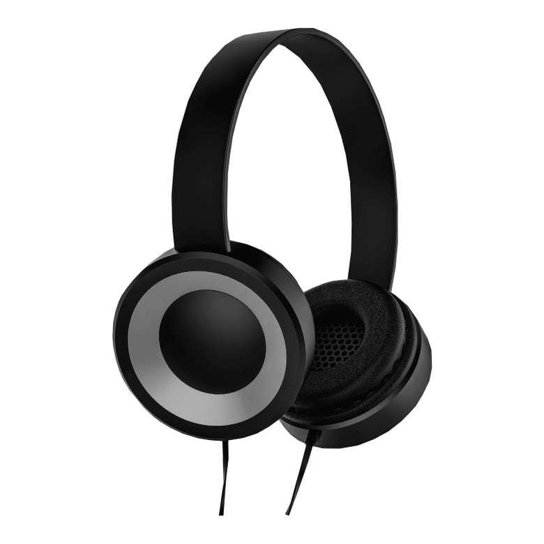 Go Smart Kablolu Rubber Kulaklık - Siyah