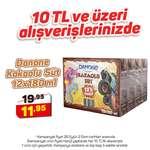 Danone Çikolatalı Süt  12x180 Ml
