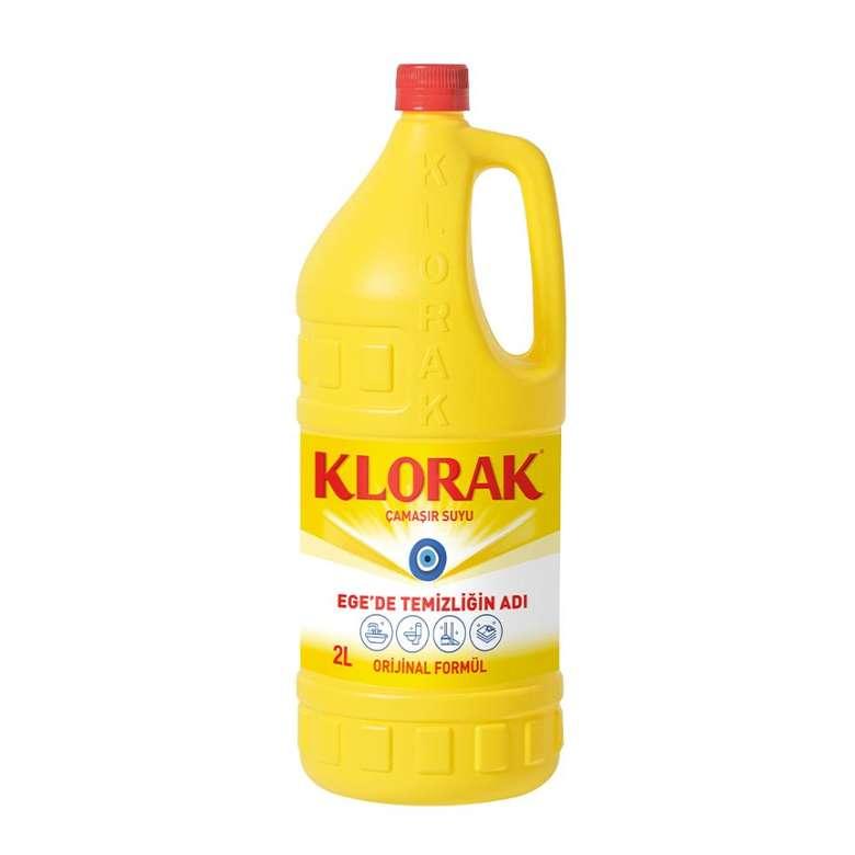 Klorak Çamaşır Suyu 2 L