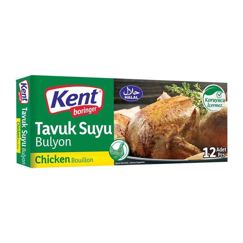 Kent Boringer Bulyon Tavuk Suyu 2x12'li