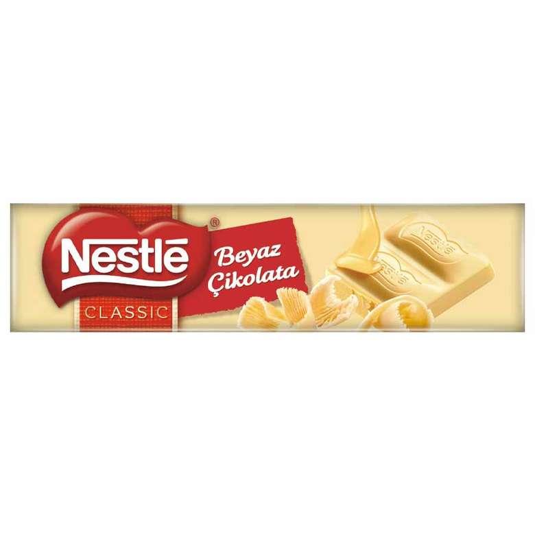 Nestle Classic Çikolata Beyaz Baton 30 G