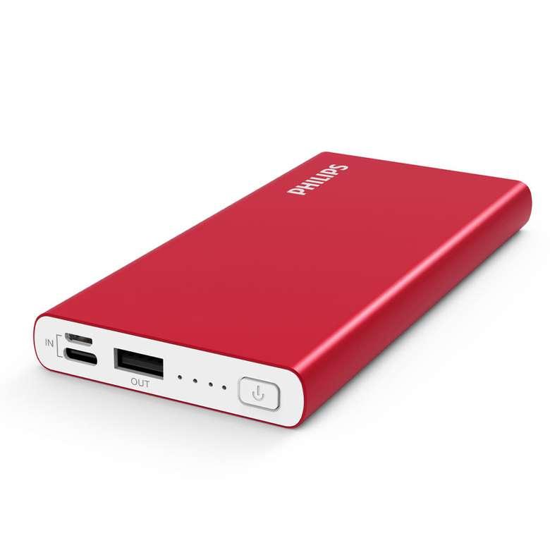Philips DLP6710 10.000 MAH Powerbank - Kırmızı