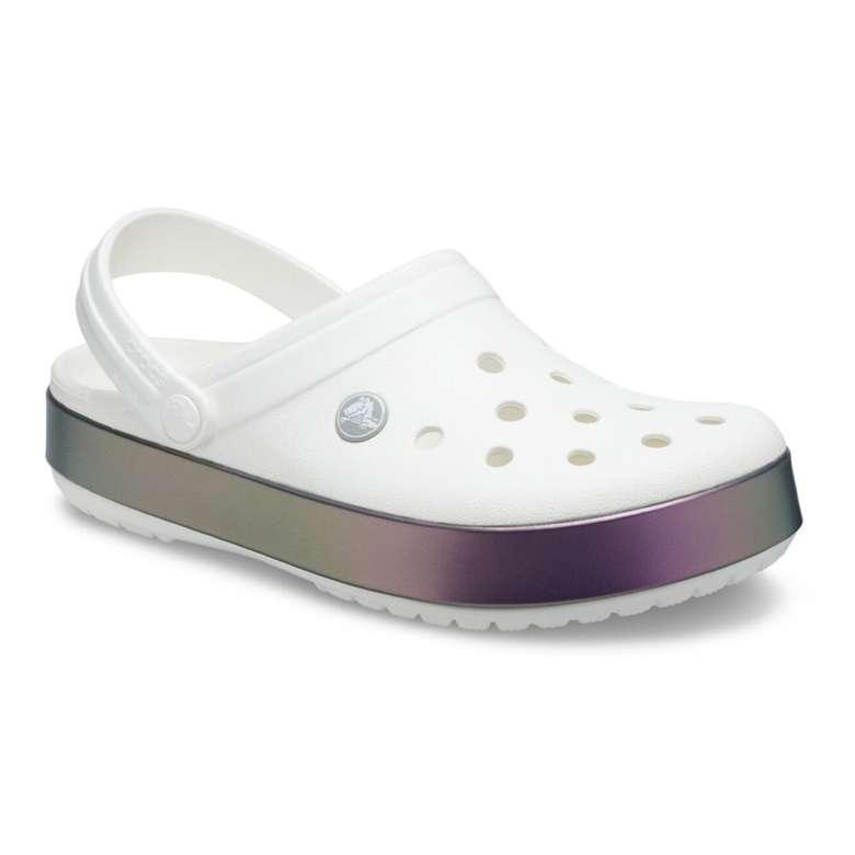 Crocs 206595-100 Kadın Ter, Beyaz, 36-37
