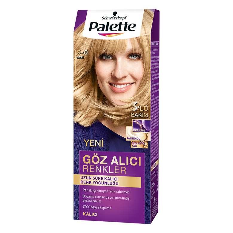 Palette Saç Boyası Göz Alıcı Renkler - Sarı 9 - 0