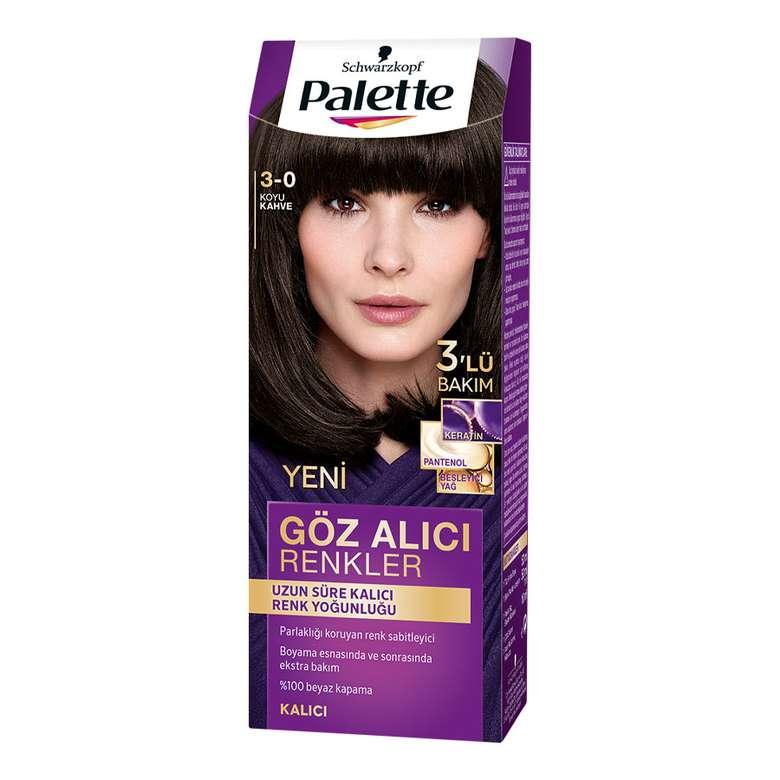 Palette Göz Alıcı Renkler Saç Boyası - Koyu Kahve 3-0