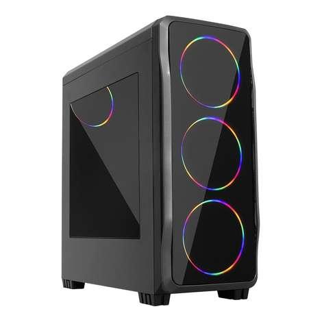 MOLECULE Helyum-S YR 331055 AMD Ryzen3 3100 / 8GB Ram / 240 SSD / RX 550 4GB Ekran Kartı / Free Dos Gaming PC