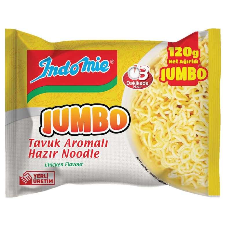 Indo Mie Noodle Paket Jumbo Tavuklu 120 G