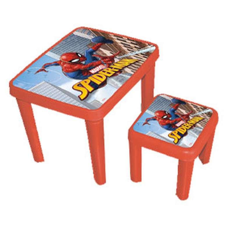 Lisanslı Masa Tabure Set - Kırmızı