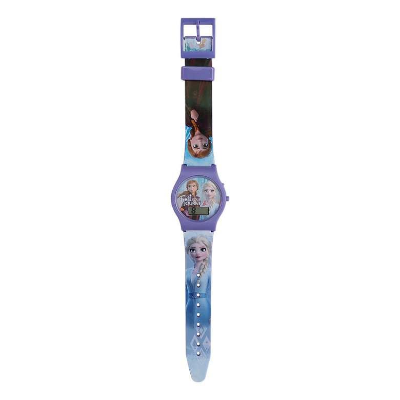 Lisanslı Dijital Kol Saati 3+yaş - Mor-mavi