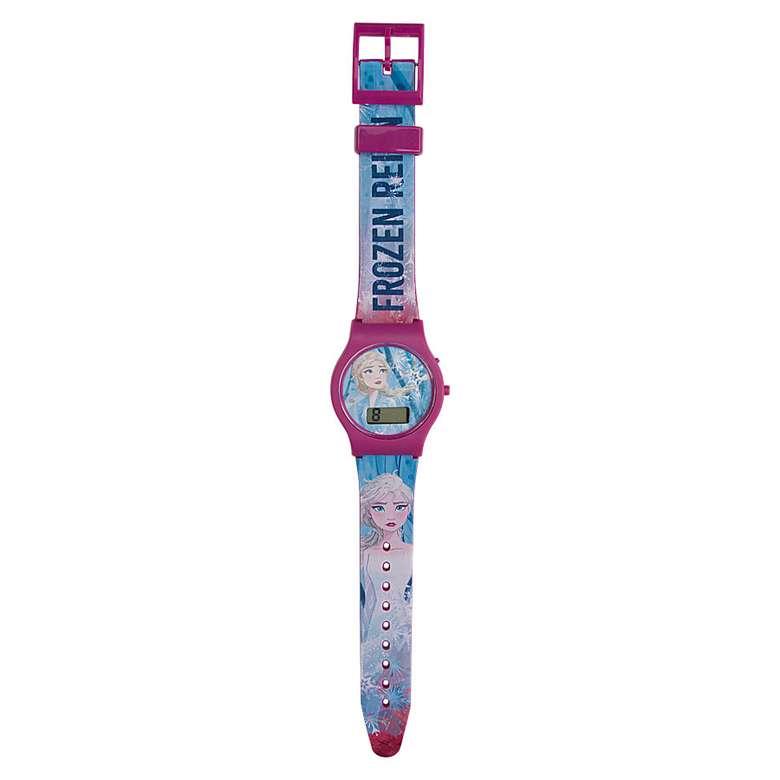 Lisanslı Dijital Kol Saati 3+yaş - Fuşya-mavi