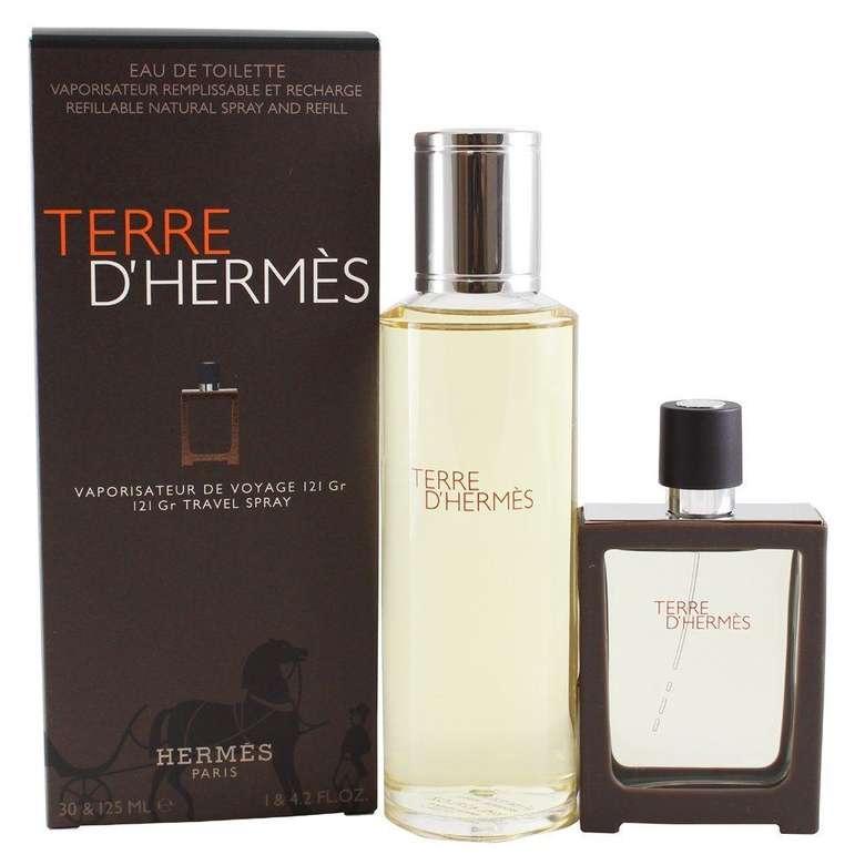 Hermes Terre D Hermes Edt 125 ml + Edt 30 ml Erkek Parfüm Seti