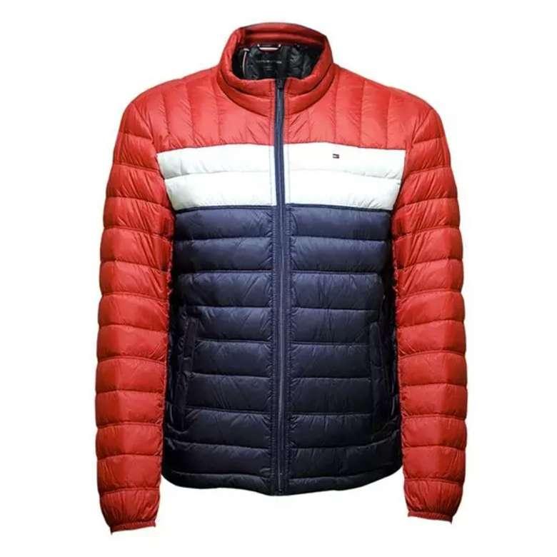 Tommy Hilfiger 155AN231 Erkek Mont - Kırmızı/Lacivert S