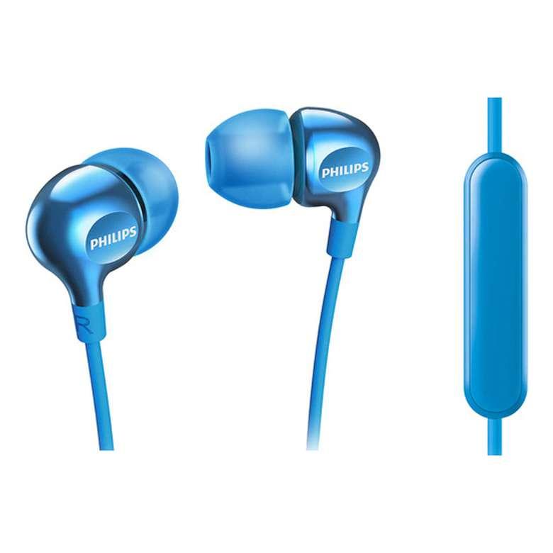 Philips She-3705L Kulak İçi Kulaklık - Mavi