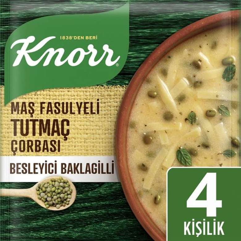 Knorr Çorba Maş Fasulyeli Tutmaç 124 G