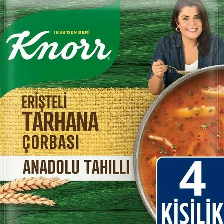 Knorr Erişteli Tarhana Çorbası 85 g