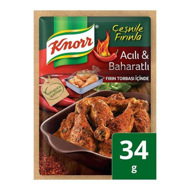Knorr Baharat Çeşni Acılı Tavuk 34 G