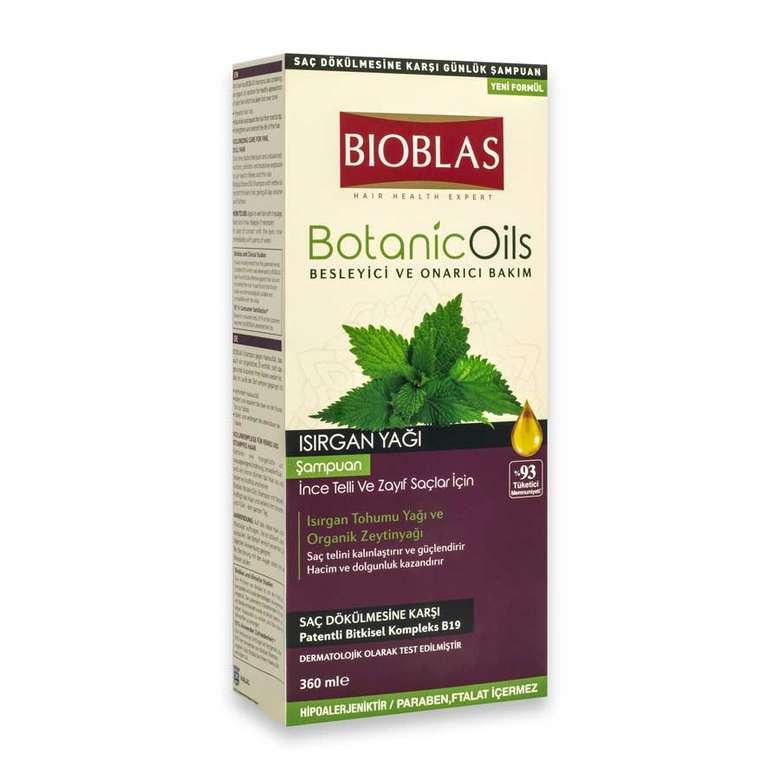 Bioblas Isırgan Yağlı Şampuan 360 ml