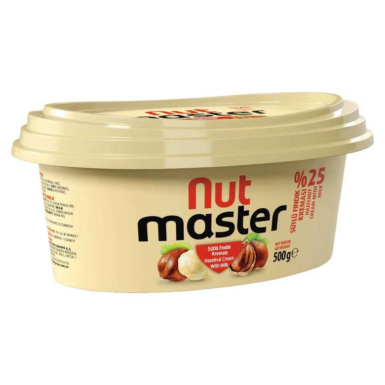 Nut Master Sütlü Fındık Kreması 500 G