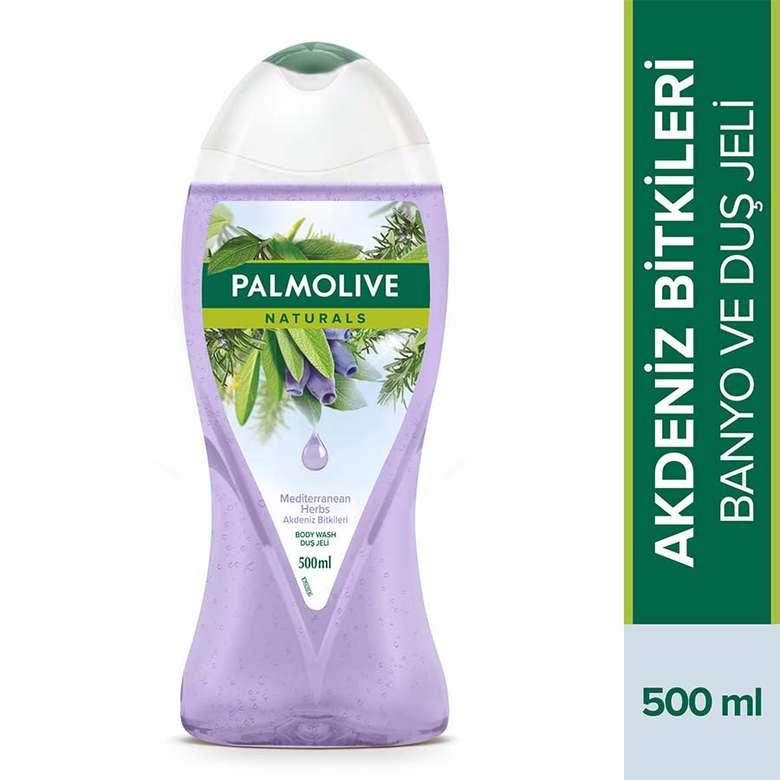 Palmolive Naturals Akdeniz Bitkileri-Adaçayı Biberiye Ve Hanımeli Özlü Duş Jeli