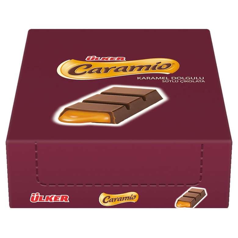 Ülker Caramio Kutulu Finger Çikolata 24*7 G