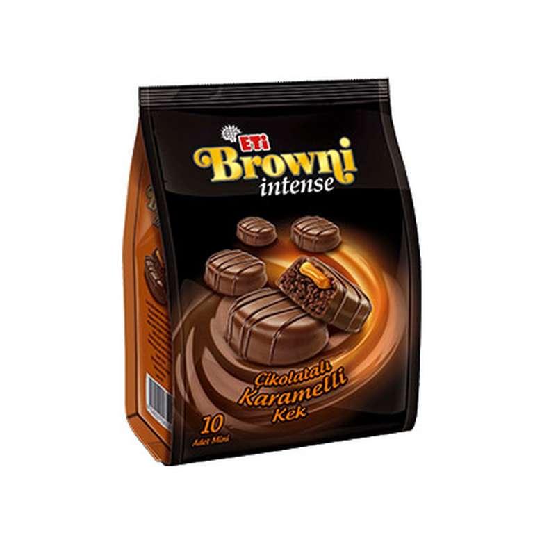 Browni Intense Çikolatalı Karamelli Kek 10x16 G