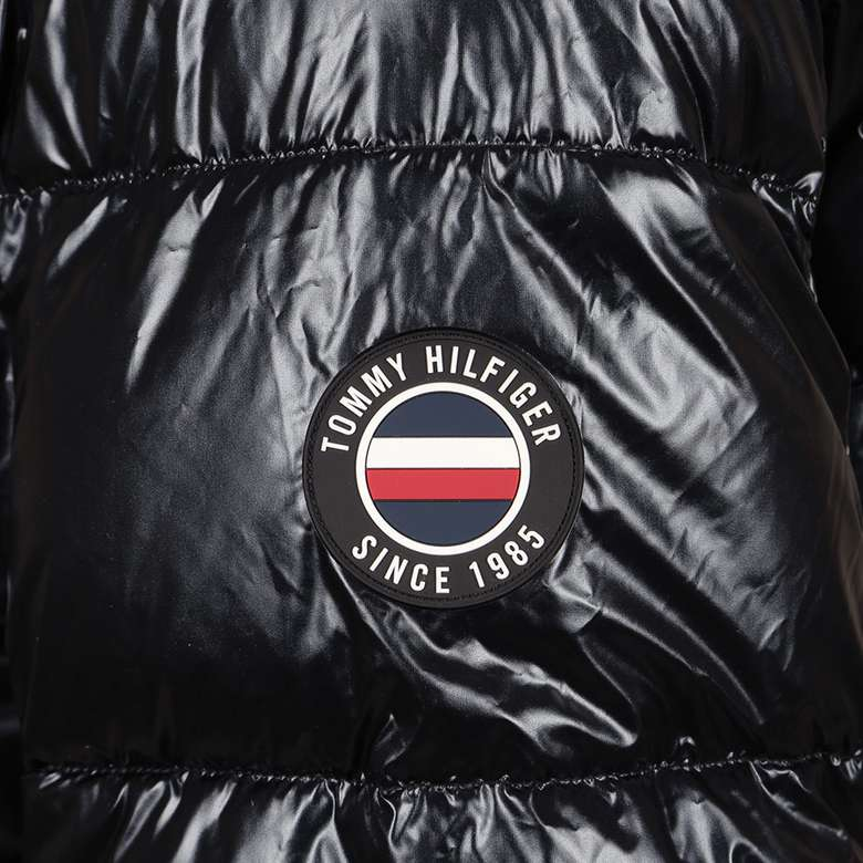 Tommy Hilfiger 150AN232BLK Erkek Mont - Siyah M