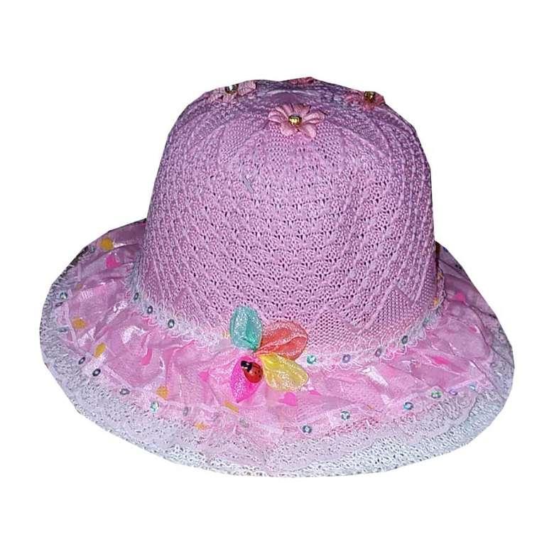 Çocuk Merserize Şapka Fuşya