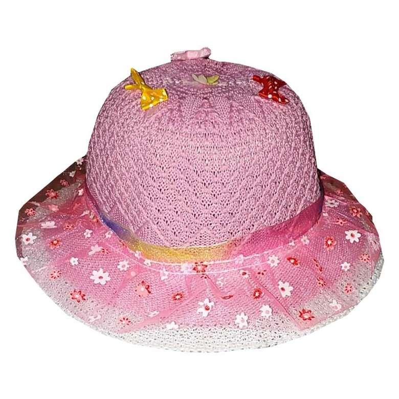 Çocuk Merserize Şapka Pudra