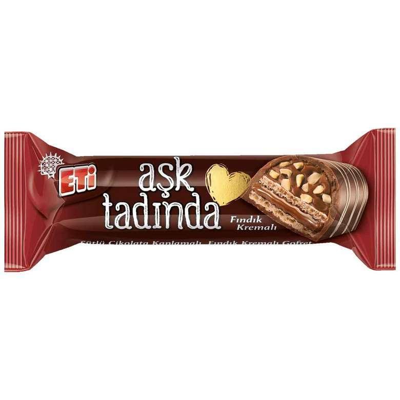 Eti Aşk Tadında Bar Çikolata Fındıklı 37 G