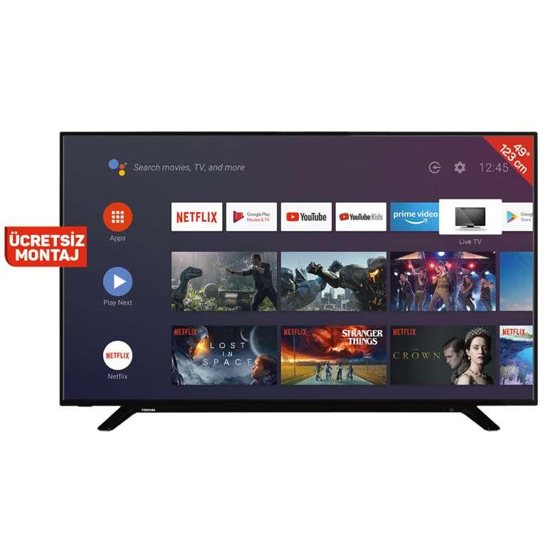 Toshiba 49UA2063DT 49'' Uhd Android Smart Led Tv