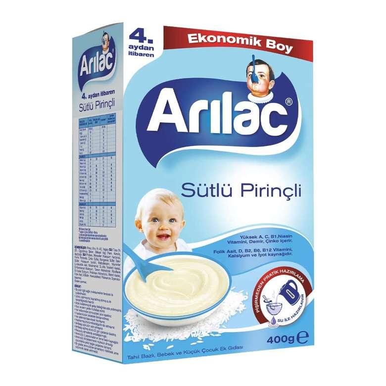 Arılac Sütlü Pirinçli Bebek ve Küçük Çocuk Ek Gıdası 400 G