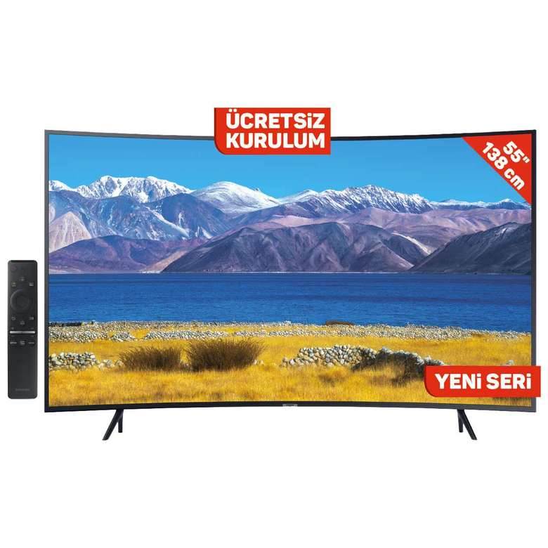 "Samsung 55TU8300 55"" 4K Curved Crystal Uhd Tv"