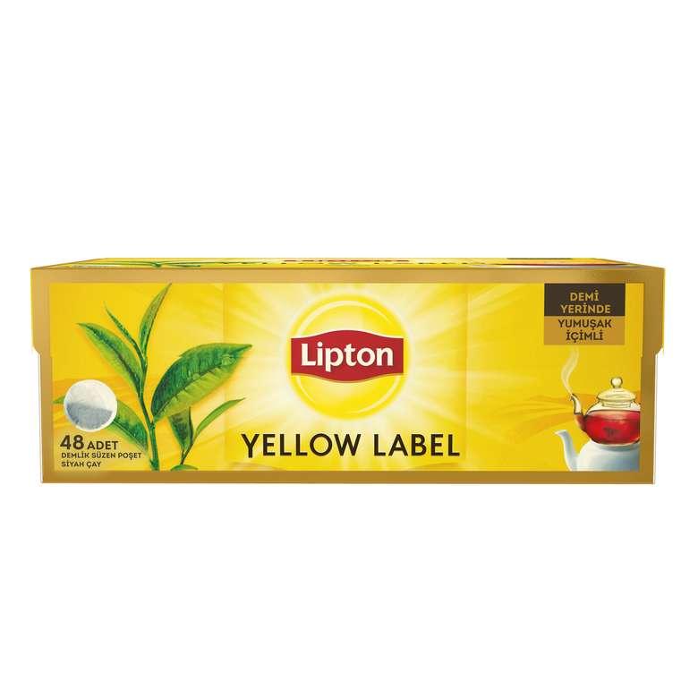 Çay Demlik Poşet Yellowlabel 48Li Lipton