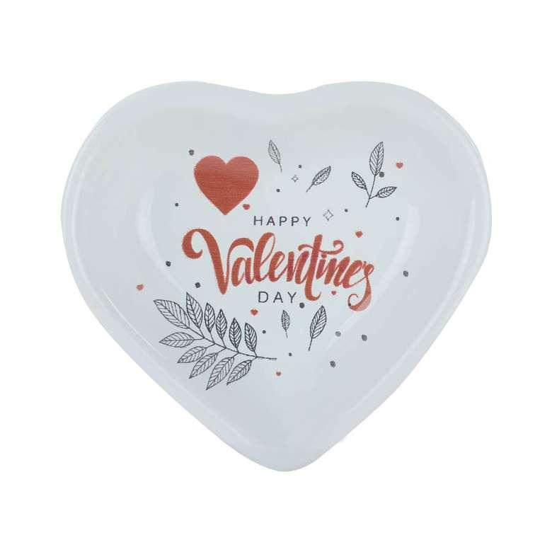 Kalp Çerezlik Love 14 Cm Keramika 2