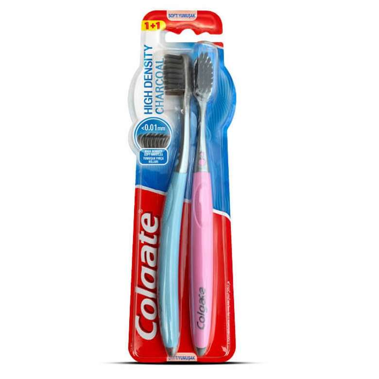 Colgate Diş Fırçası Hıgh Densıty 1+1 Adet